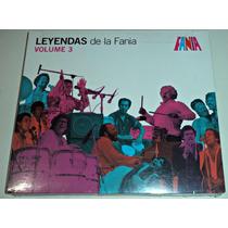 Cd Leyendas De La Fania Vol 3 / Importado / Nuevo Sellado