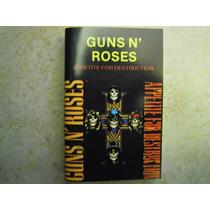 Guns N´ Roses Casette Appetite For Destruction Edicion Rara