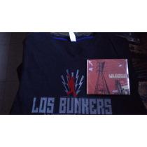 Los Bunkers - Velocidad De La Luz + Playera De Recuerdo