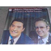 Album 3 L.p.331/3 Acetato M.a.muñiz Y La Musica De R.fuentes