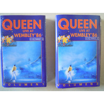 Queen Casette Live At Wembley´86 Seminuevo