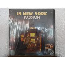 Acetato Disco Vinil Lp Passion In New York