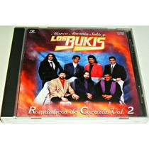 Cd Los Bukis / Romanticos De Corazon Vol 2 1a Edicion 1996