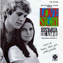 Disco 45 Rpm Soundtrack De La Película Historia De Amor