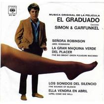 Disco 45 Rpm Soundtrack De La Película El Graduado
