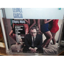 Leonel Garcia Todas Mias Cd + Dvd Sellado