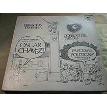 Disco Lp Oscar Chavez - Parodias Politicas -