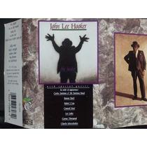 John Lee Hooker: The Healer. Cassette Usado 1ra Ed 1989 Usa