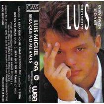 Luis Miguel Cassette Single Sera Que No Me Amas 1991 3 Vers
