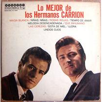 Rock Mexicano, Los Hermanos Carrion, Lo Mejor, Lp 12´, Fdp