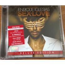 Sex And Love (cd + Dvd) Enrique Iglesias