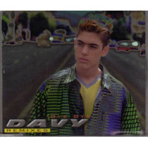 Davy (david Cavazos) Bye Bye-remixes Cd Sencillo Raro
