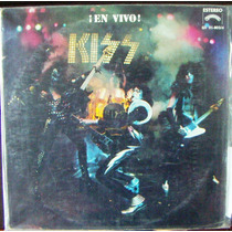 Rock Inter, Kiss, En Vivo, Lp 12´, Hecho En México, Bfn
