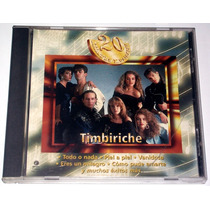 Cd Timbiriche 20 Kilates Musicales!! Vmj