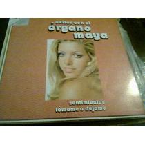 Disco L.p De Exitos Con El Organo Maya
