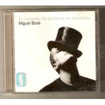 Miguel Bose Cd 11 Maneras De Quitarse El Sombrero