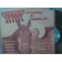 Disco L.p. Charro Avitia Corridos De Caballos