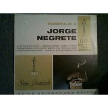 Disco L.p De Jorge Negrete