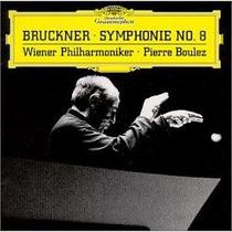 Pierre Boulez Anton Bruckner Symphonie Nr.8 Cd Omm Wagner