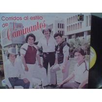 L.p. Acetato Grande Corridos De Los Caminantes