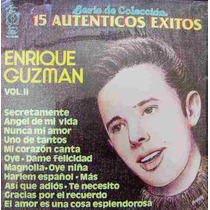 Rock Mexicano.enrique Guzman, Vol. 2, Lp 12´,mdn
