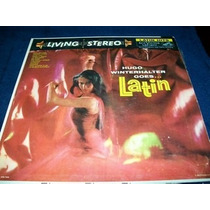 Hugo Winterhalter Goes Latin Lp Vinil Easy Listening 50s Vbf