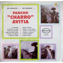 Bolero, Charro Avitia, Un Caballo... Un Corrido... Lp12´