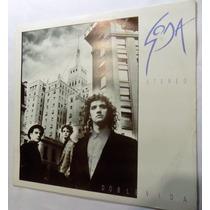 Soda Stereo Doble Vida L P México Latín Rock 1988 Inserto