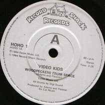 Video Kids Woodpeckers From Space Remix Acetato Techno 90