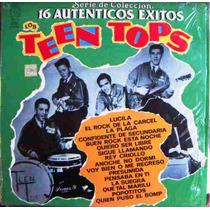 Rock Mexicano, Los Teen Tops, 16 Éxitos, Lp 12´,