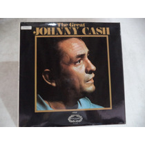 The Great Johnny Cash 1958 Lp Ingles Semi Nuevo Coleccion