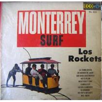 Rock Mexicano, Los Rockets, ( Monterrey Surf), Lp 12´,