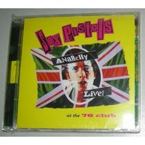 Sex Pistols Anarchy Live! At The 76 Club En Vivo Punk Rock