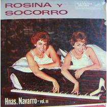 Rock Mex, Hermanas Navarro, Rosina Y Socorro, Vol. 3, Lp 12´
