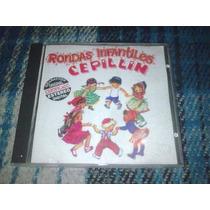 Cepillin Cd Titulado Rondas Infantiles..nuevo Edicion 1997