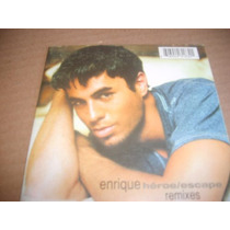 Enrique Iglesias Heroe Escape Remixes Cd Sencillo Mexico Pyf