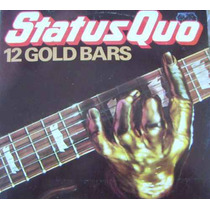 Rock Inter, Status Quo, ( 12 Gold Bars ), Lp 12´,