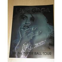 Lady Gaga Monster Ball Tour Program Nuevo