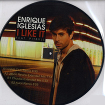 Enrique Iglesias I Like It Feat Pitbull Vinil Picture Disc.