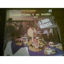 Disco Acetato De Habana Cuba Y Su Rumba Con La Sonora Matanc
