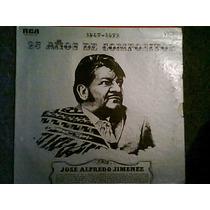 Disco L.p De Jose Alfredo Jimenez