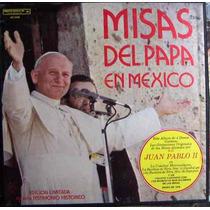 Documental, Juan Pablo 2, Misas Del Papa En Mexico, Lp 12´,
