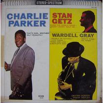 Jazz Inter, Charlie Parker, Stan Getz, Lp12´, Hecho En U S A