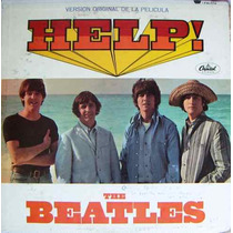 The Beatles, Versión Original De La Pelicula Help!, Lp 12´,