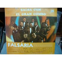 El Gran Combo - Lp De 12 - Falsaria