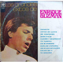 Rock Mexicano.enrique Guzman, ( Grandes Exitos), Lp 12´,