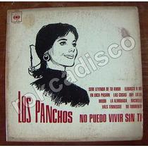 Bolero, Los Panchos (no Puedo Vivir Sin Ti) Lp 12