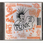 Punk - Volumen 2 ( Compilado Hardcore Punk Mexicano) Cd Rock