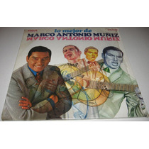 Marco Antonio Muñiz - Lo Mejor- Album De 3 Discos Lp Boleros