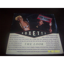 Roxette The Look Single Vinyl Lp 1989 Emi Svenska France